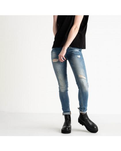 9364-581-02 Colibri джинсы женские голубые стрейчевые (5 ед. размеры: 25.25.26.27.29) Colibri