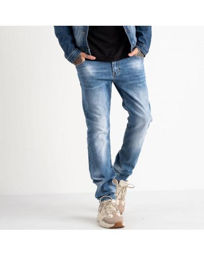 2077 Fang джинсы голубые стрейчевые (8 ед. размеры: 30.31.32.33.34.35.36.38) Fang