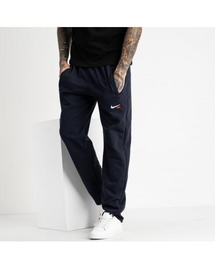 16402-4 синие спортивные брюки из двунитки (4 ед. размеры: 46.48.50.52) Спортивные штаны