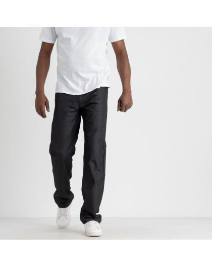 43502 LS брюки мужские черная клетка котоновые (8 ед. размеры: 30.31.32.33.34.35.36.38) LS