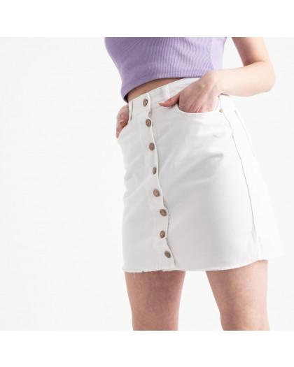 0002-752 Arox юбка на пуговицах белая котоновая (4 ед. размеры: 34.36.38.40) Arox