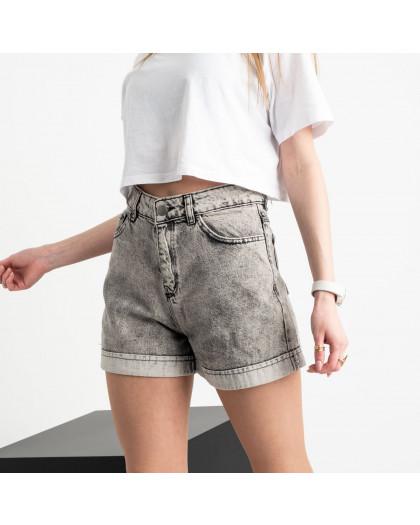 0653 Defile серые джинсовые шорты котоновые (6 ед. размеры: 34.36/2.38/2.40) Defile