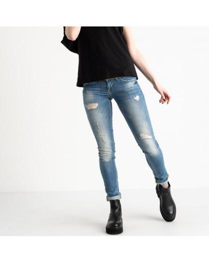 9364-581 Colibri джинсы женские голубые стрейчевые (6 ед. размеры: 25.26.27.28.29.30) Colibri