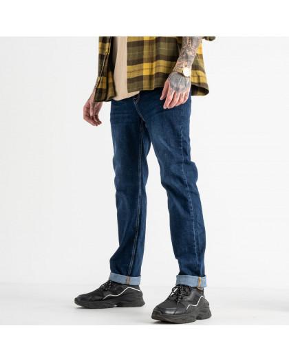 0928-5 Relucky джинсы мужские синие стрейчевые (8 ед. размеры: 29.30.31.32.33.34.36.38) Relucky