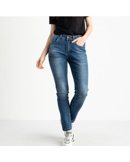 0550-8 AF Relucky джинсы cиние полубатальные стрейчевые (6 ед. размеры: 28.29.30.31.32.33) Relucky
