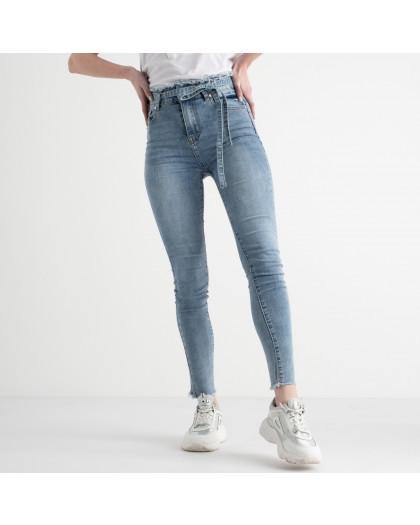 0631 New Jeans американка голубая стрейчевая (6 ед. размеры: 25.26.27.28.29.30) New Jeans