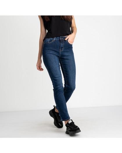 5031 New Jeans американка полубатальная синяя стрейчевая (6 ед. размеры: 28.29.30.31.32.33) New Jeans