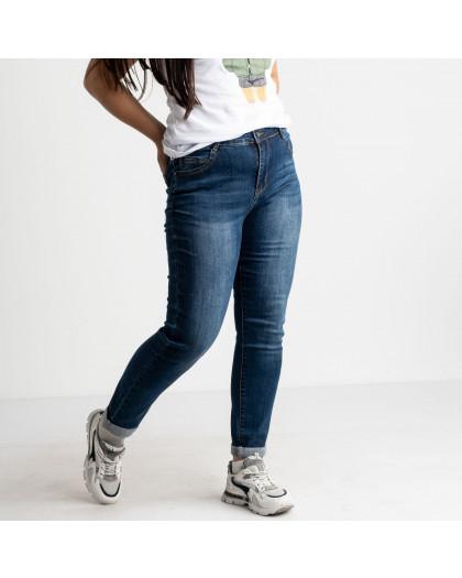 3116 KT.Moss джинсы полубатальные синие стрейчевые (6 ед. размеры: 28.29.30.31.32.33) KT.Moss