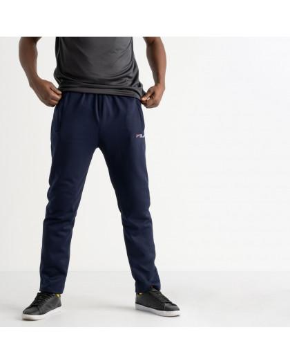 16406-2 синие батальные спортивные брюки из двунитки (4 ед. размеры: 56.58.60.62) Спортивные штаны