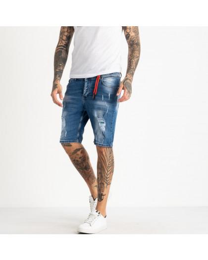 0465-105 Icon 2 шорты мужские джинсовые синие стрейчевые (10 ед. размеры: 30.31/2.32/2.33/2.34.36.38) Icon 2