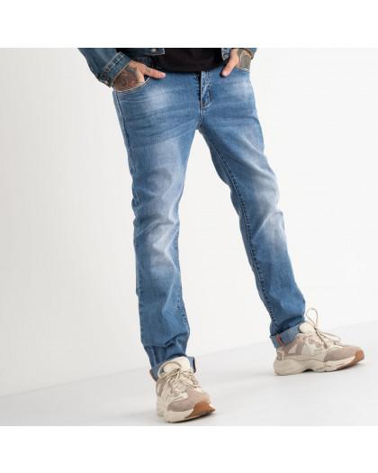 2128 Fang джинсы голубые стрейчевые (8 ед. размеры: 29.30.31.32.33.34.35.36) Fang