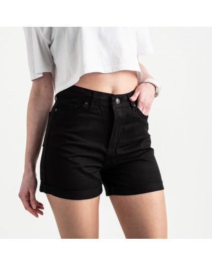 2106 MOM шорты женские черные котоновые (6 ед. размеры: 25.26/2.28.30.32) MOM