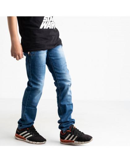 0091-5 Vingvgs джинсы юниор синие стрейчевые (7 ед. размеры: 23.24.25.26.27.28.29) Vingvgs