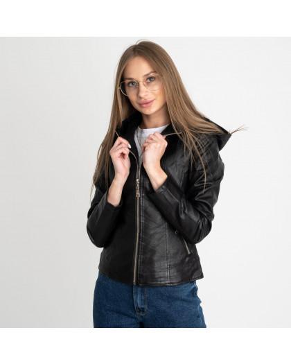 0360 куртка женская из кожзама (5 ед. размеры: S.M.L.XL.XXL) Куртка