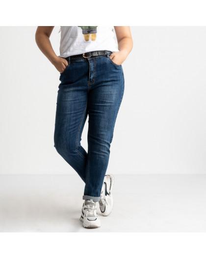3119 KT.Moss джинсы батальные синие стрейчевые (6 ед. размеры: 30.31.32.33.34.36) KT.Moss
