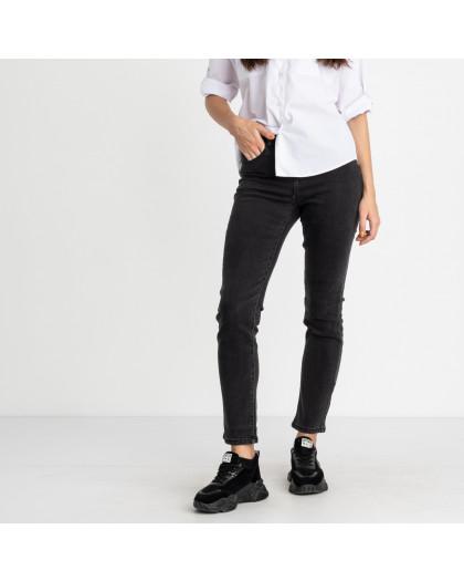 5039 New Jeans джинсы  полубатальные темно-серые стрейчевые (6 ед. размеры: 28.29.30.31.32.33) New Jeans