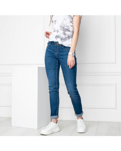 1941-7 Nescoly джинсы женские голубые стрейчевые ( 7 ед. размеры: 24.25.26.27/2.28/2) Nescoly