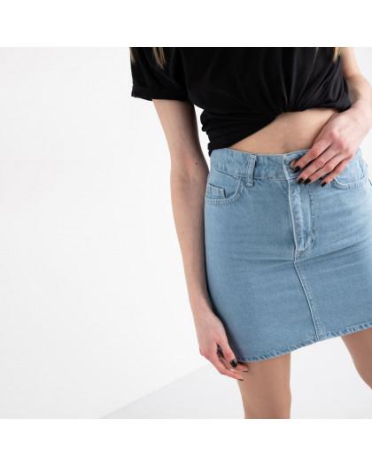 0032-126  Arox юбка джинсовая голубая котоновая (6 ед. размеры: 34.36.38.38.40.42) Arox