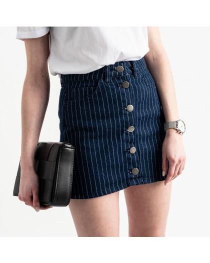 0200-61 Defile юбка на пуговицах синяя котоновая (5 ед. размеры: 34.36/2.38.40) Defile