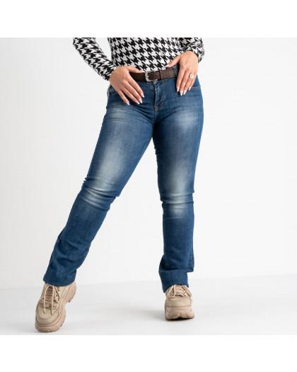 9173-B-535 Colibri джинсы полубатальные синие стрейчевые (6 ед. размеры: 28.29.30.31.32.33) Colibri