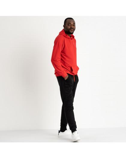 16219-3 красный спортивный костюм мужской из двунитки (4 ед. размеры: M.L.XL.2XL) Спортивный костюм