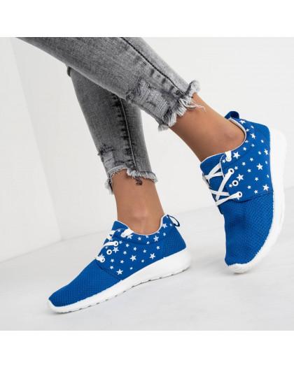 9585-1 синие женские кроссовки (8 ед. размеры: 36.37.38.38.39.39.40.41) Кроссовки