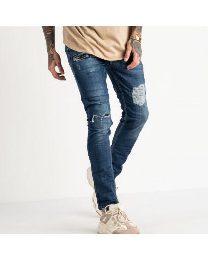2470 Quartz джинсы синие стрейчевые (8 ед. размеры: 29.30.31.32.32.33.34.36) Quartz