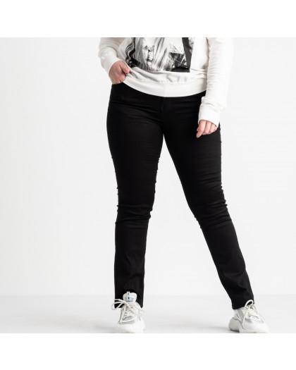 9801-1  Sunbird черные брюки батальные стрейчевые (6 ед. размеры: 31.33.35.37.39.42) Sunbird