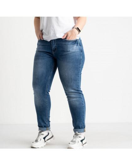 0543-8 A Relucky джинсы батальные синие стрейчевые (6 ед. размеры:.31.32.33.34.36.38) Relucky