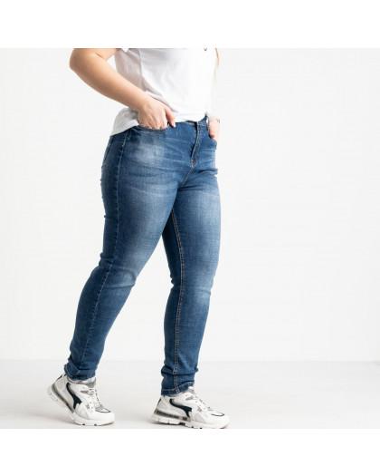 0524-6 A Relucky джинсы батальные синие стрейчевые (6 ед. размеры:.31.32.33.34.36.38) Relucky