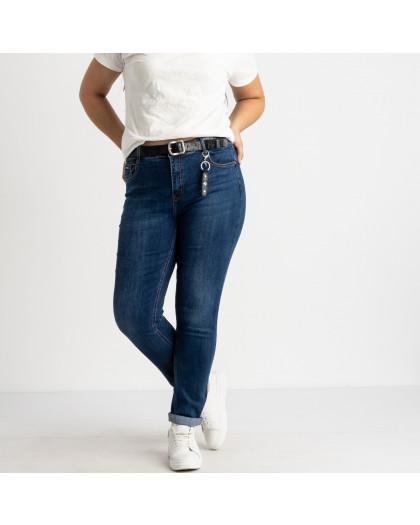 3117 KT.Moss джинсы полубатальные синие стрейчевые (6 ед. размеры: 28.29.30.31.32.33) KT.Moss
