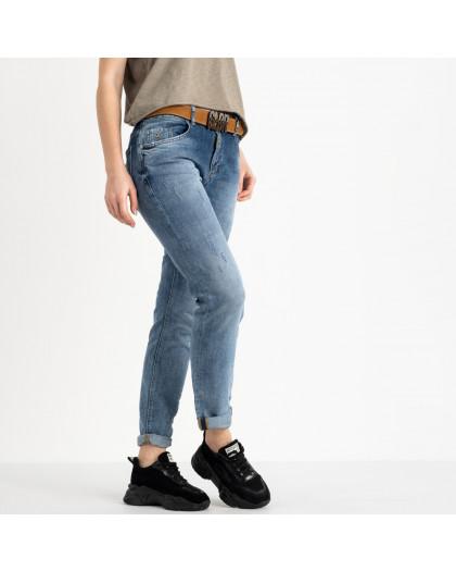 9478-B-704 Colibri джинсы полубатальные женские темно-синие стрейчевые (6 ед. размеры: 28.29.30.31.32.33) Colibri