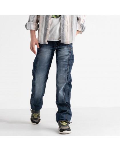 3197-4 Vigoocc джинсы на мальчика синие котоновые (7 ед. размеры: 24.25.26.27.28.29.30) Vigoocc