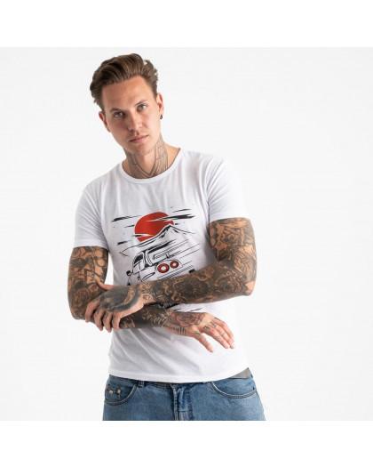 2610-10 футболка мужская с принтом (4 ед. размеры: M.L.XL.2XL) Футболка