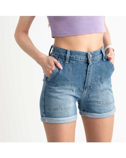 3471 Xray шорты женские голубые котоновые (5 ед. размеры:34.36.38.40.42) XRAY