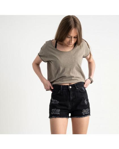 3347 шорты черные джинсовые котоновые ( 8 ед. размеры:25/2.26/3.28/2.30 ) Шорты