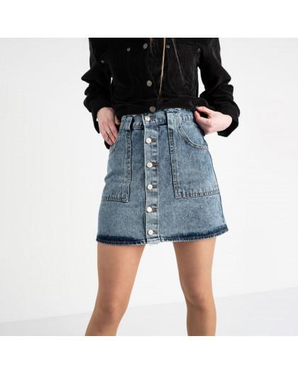 2958-1 Arox юбка джинсовая голубая котоновая (6 ед. размеры: 34.36.36.38.38.40) Arox