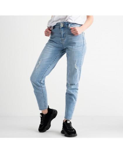 0634 New Jeans джинсы женские голубые стрейчевые (6 ед. размеры: 25.26.27.28.29.30) New Jeans