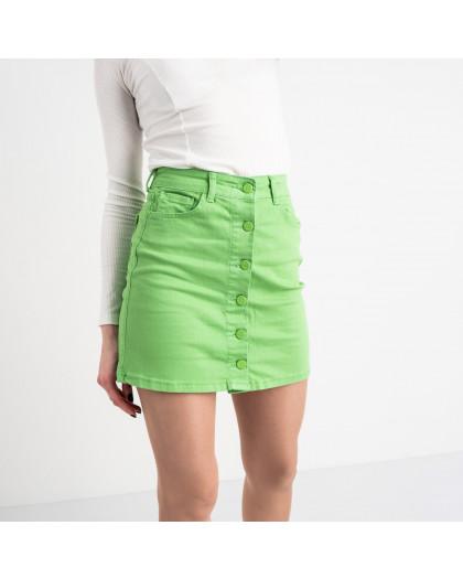 0004-11 Arox юбка женская зеленая котоновая (4 ед. размеры: 34.36.38.40) Arox