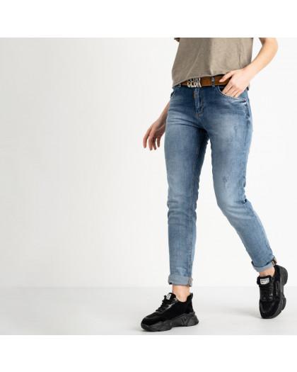 9478-B-7041 Colibri джинсы полубатальные женские темно-синие стрейчевые (7 ед. размеры: 28.29.30.31.32.32.33) Colibri