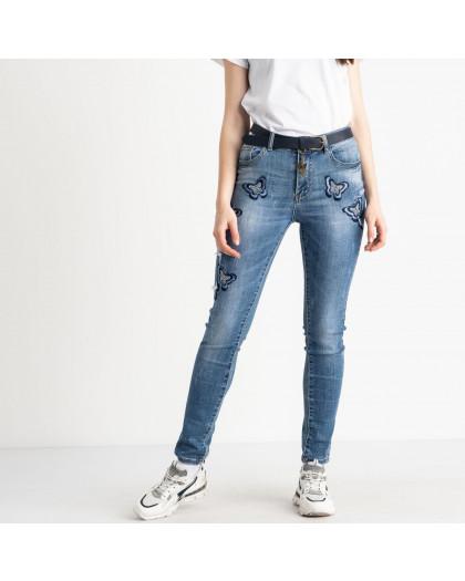 1099 Lady N джинсы женские голубые стрейчевые ( 6 ед. размеры: 27.28.29.30.31.32) Lady N
