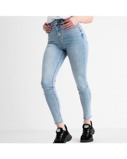 0644 New Jeans американка голубая стрейчевая (6 ед. размеры: 25.26.27.28.29.30) New Jeans