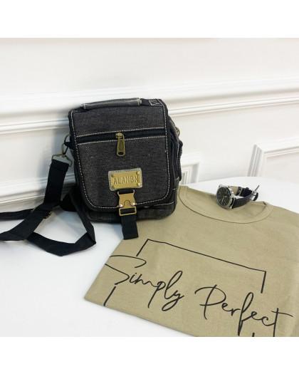 3417 сумка мужская наплечная (5 ед.) Сумка