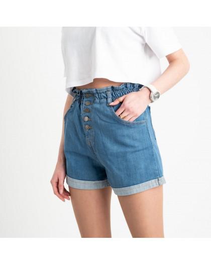 0651 Defile голубые джинсовые шорты стрейчевые (6 ед. размеры: 34.36/2.38/2.40) Defile