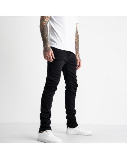 1931-4 Nescoly джинсы мужские черные стрейчевые (6 ед. размеры: 30/2.32.34.36.38) Nescoly