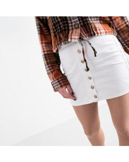 0001 Arox юбка женская белая котоновая (4 ед. размеры: 34.36.38.40) Arox