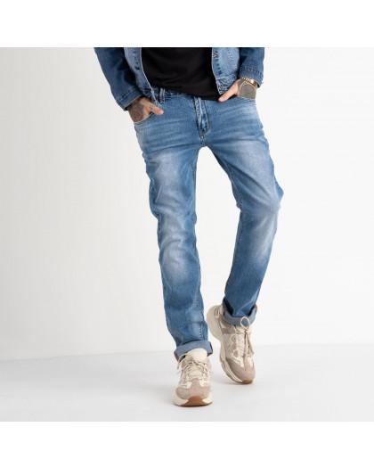 2061 Fang джинсы голубые стрейчевые (8 ед. размеры: 29.30.31.32.33.34.35.36) Fang