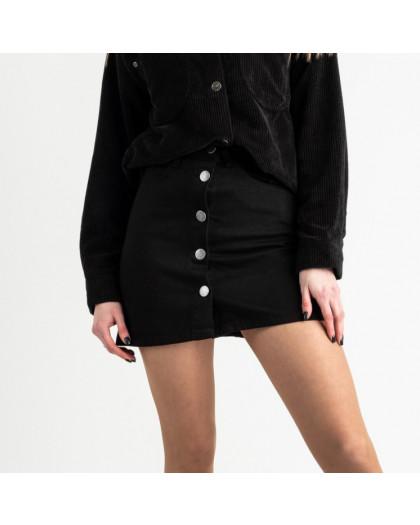 0200-12 Defile юбка джинсовая черная котоновая (6 ед. размеры: 34.36.36.38.38.40) Defile