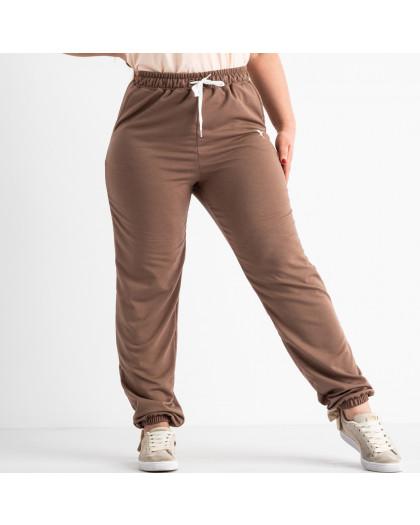 14870-3 Mishely мокко брюки женские спортивные батальные стрейчевые (4 ед. размеры: 50.52.54.56) Mishely