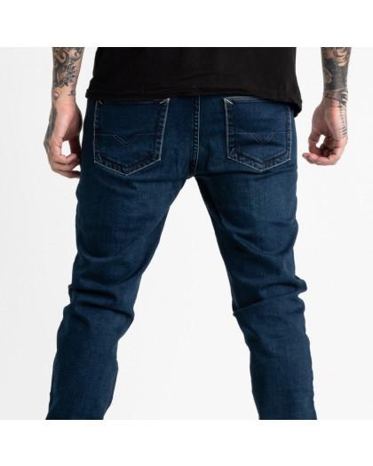 1937-2 Nescoly джинсы мужские синие стрейчевые (7 ед. размеры: 30/3.34/3.36) Nescoly